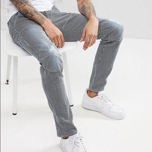 G-Star 5620 3D Striped Slim Jeans